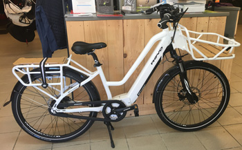 cycle, cycles et nature : magasin de vente et de reparation de velo a bordeaux, BH Cargo 2017