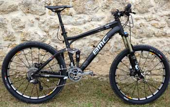 cycles et nature : magasin de vente et de reparation de velo a bordeaux, bmc trailfox carbone tf01 xtr