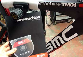 cycles et nature : magasin de vente et de reparation de velo a bordeaux, bmc time machine tm 01 2012