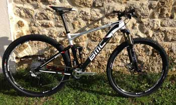 cycles et nature : magasin de vente et de reparation de velo a bordeaux, bmc Fourstroke FS02 2013
