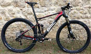 cycles et nature : magasin de vente et de reparation de velo a bordeaux, bmc Fourstroke FS01 2013