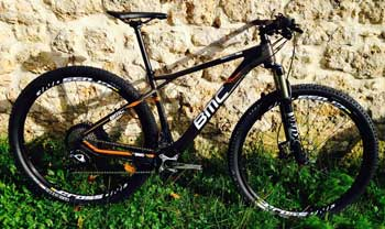 cycles et nature : magasin de vente et de reparation de velo a bordeaux, BMC Team elite TE02 slx 2014