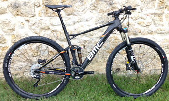 cycles et nature : magasin de vente et de reparation de velo a bordeaux, bmc Fourstroke FS02 Tailcrew2014