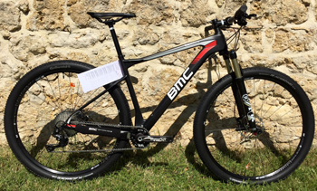 cycles et nature : magasin de vente et de reparation de velo a bordeaux, BMC Teamelite 02 XT rotor rex 2016