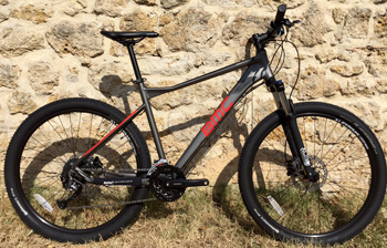 cycles et nature : magasin de vente et de reparation de velo a bordeaux, BMC Sport elite 27.5 Alivio 2017