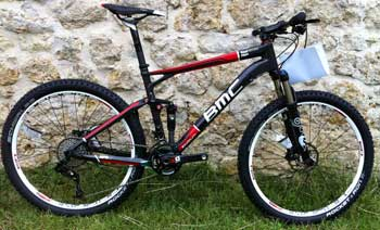 cycles et nature : magasin de vente et de reparation de velo a bordeaux, BMC fourstroke fs 01 2012