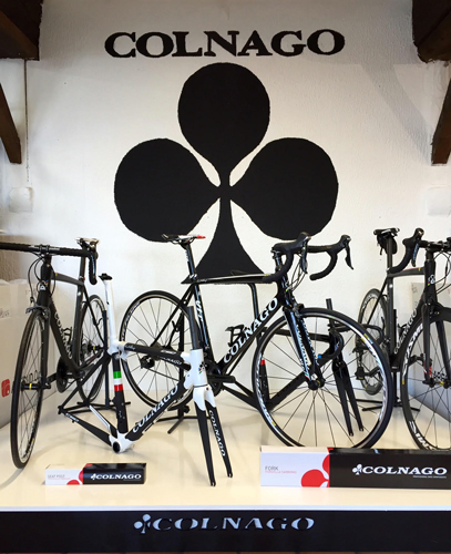 cycle, cycles et nature : magasin de vente et de reparation de velo a bordeaux, colnago