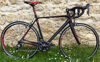 cycle, cycles et nature : magasin de vente et de reparation de velo a bordeaux, CUBE GTC SL carbon n flashred 2015