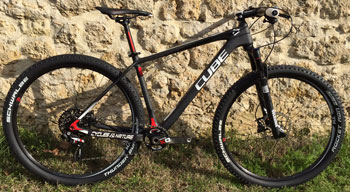 cycle, cycles et nature : magasin de vente et de reparation de velo a bordeaux, CUBE Elite C68 Pro Blackline 29 2015