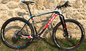 cycle, cycles et nature : magasin de vente et de reparation de velo a bordeaux, CUBE ELITE C68 SL 29 2015