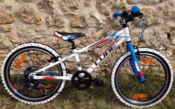 cycle, cycles et nature : magasin de vente et de reparation de velo a bordeaux, Kid 200 teamline 20'' 2015