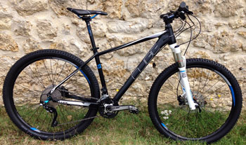 cycle, cycles et nature : magasin de vente et de reparation de velo a bordeaux, VTT CUBE LTD Pro 27.5 blackline 2015