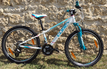 cycle, cycles et nature : magasin de vente et de reparation de velo a bordeaux, VTT CUBE KID Girl 240 2016