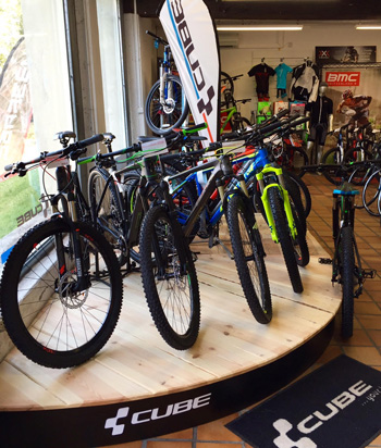 cycle, cycles et nature : magasin de vente et de reparation de velo a bordeaux, cube bikes
