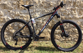 cycle, cycles et nature : magasin de vente et de reparation de velo a bordeaux, VTT CUBE Reaction GTC Pro 27.5 2016
