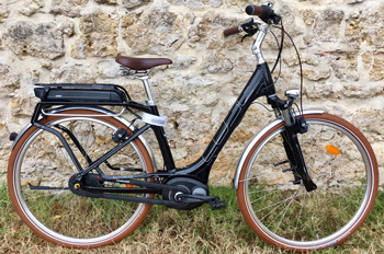 cycle, cycles et nature : magasin de vente et de reparation de velo a bordeaux, Elly Cruise Hybrid 400 2017