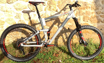 cycle, cycles et nature : magasin de vente et de reparation de velo a bordeaux, VTT CUBE STEREO 150 HPA race 27.5+ 2017