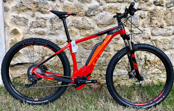 cycle, cycles et nature : magasin de vente et de reparation de velo a bordeaux, CUBE Reaction Hybrid RACE 500 2018