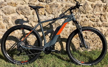 cycle, cycles et nature : magasin de vente et de reparation de velo a bordeaux, CUBE Reaction Hybrid HPA 2019