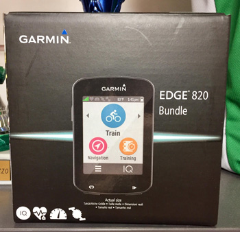 cycles et nature : magasin de vente et de reparation de velo a bordeaux, GARMIN EDGE 820 2017