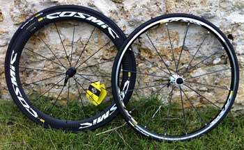 cycle, cycles et nature : magasin de vente et de reparation de velo a bordeaux, mavic cosmic et r-sys 2012