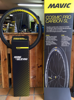 cycle, cycles et nature : magasin de vente et de reparation de velo a bordeaux, mavic COSMIC PRO CARBON SL C