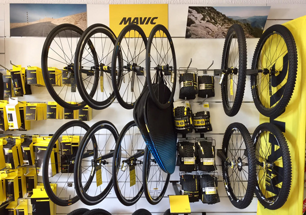 cycles et nature : magasin de vente et de reparation de velo a bordeaux, Mavic 2017