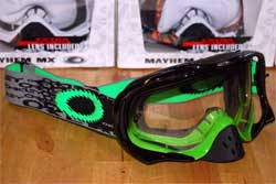 cycle, cycles et nature : magasin de vente et de reparation de velo a bordeaux, lunette et masque oakley mtb, vtt, dh, velo de route, mx,  crowbar green fade
