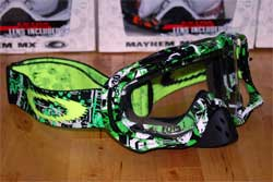cycle, cycles et nature : magasin de vente et de reparation de velo a bordeaux, lunette et masque oakley mtb, vtt, dh, velo de route, mx,  crobar one icon green
