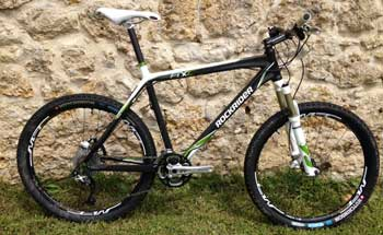 cycles et nature : magasin de vente et de reparation de velo a bordeaux, Rockrider 8XC Carbone 2012