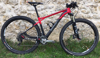 cycle, cycles et nature : magasin de vente et de reparation de velo a bordeaux BMC Team elite TE02 XT/SLX 2014 montage roue DT 1700 Tubless