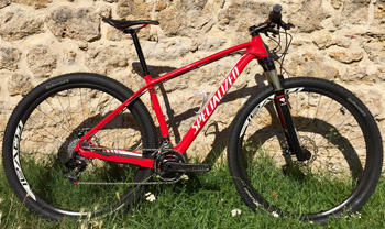 cycles et nature : magasin de vente et de reparation de velo a bordeaux, Specialized Stumpjumper HT Marathon Carbon 29 2013