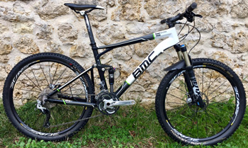 cycles et nature : magasin de vente et de reparation de velo a bordeaux, BMC FOURSTROKE FS 02 XT/SLX 2012 occasion