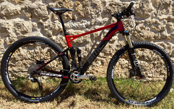 cycles et nature : magasin de vente et de reparation de velo a bordeaux, BMC Fourstroke FS02 SLX/XT 29 2014 occasion