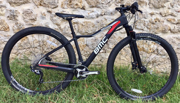 cycle, cycles et nature : magasin de vente et de reparation de velo a bordeaux, BMC Team elite TE02 Deore-SLX 2017
