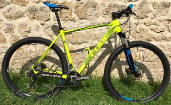 cycle, cycles et nature : magasin de vente et de reparation de velo a bordeaux, VTT CUBE LTD Pro 29 spicy 2015
