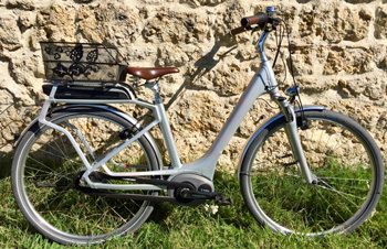 cycle, cycles et nature : magasin de vente et de reparation de velo a bordeaux, CUBE ELLY CRUISE Hybrid 500 2017